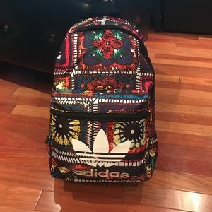 BNWT adidas Bright Patchwork Style Backpack Bag